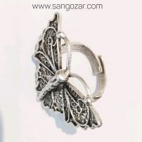 انگشتر ورشو پروانه ای sz13224