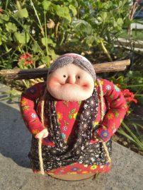 عروسک ننه شمالی مدل ننه هیزم دار (sz13244)