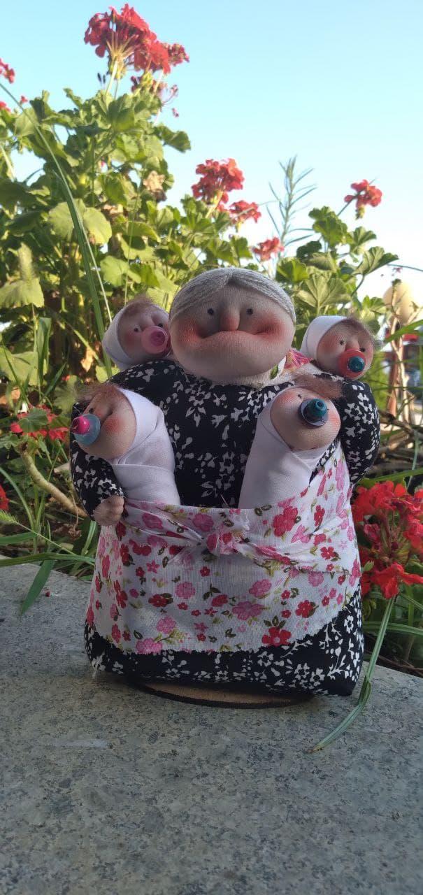 عروسک های ننه شمالی (sz13245)