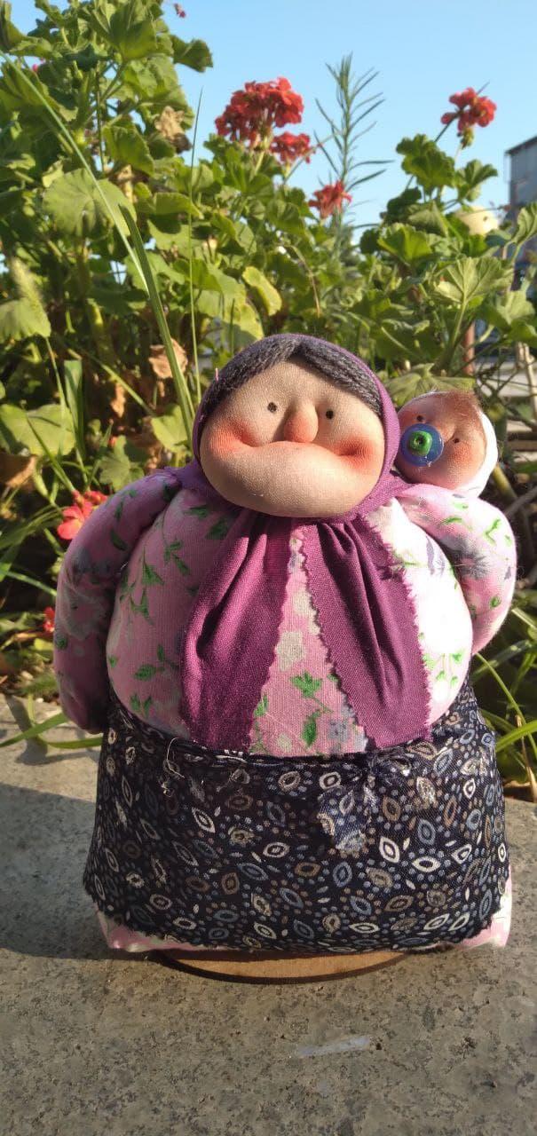 عروسک های ننه شمالی مدل نوه دار (sz13249)