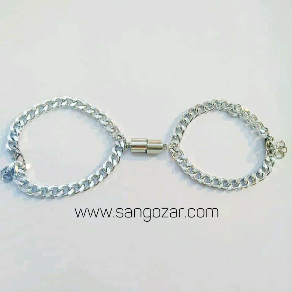 دستبند دوستی استیل رنگ ثابت (sz13260)