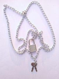 گردنبند قفل و کلید مدل (sz13261)گردنبند قفل و کلید مدل (sz13261)