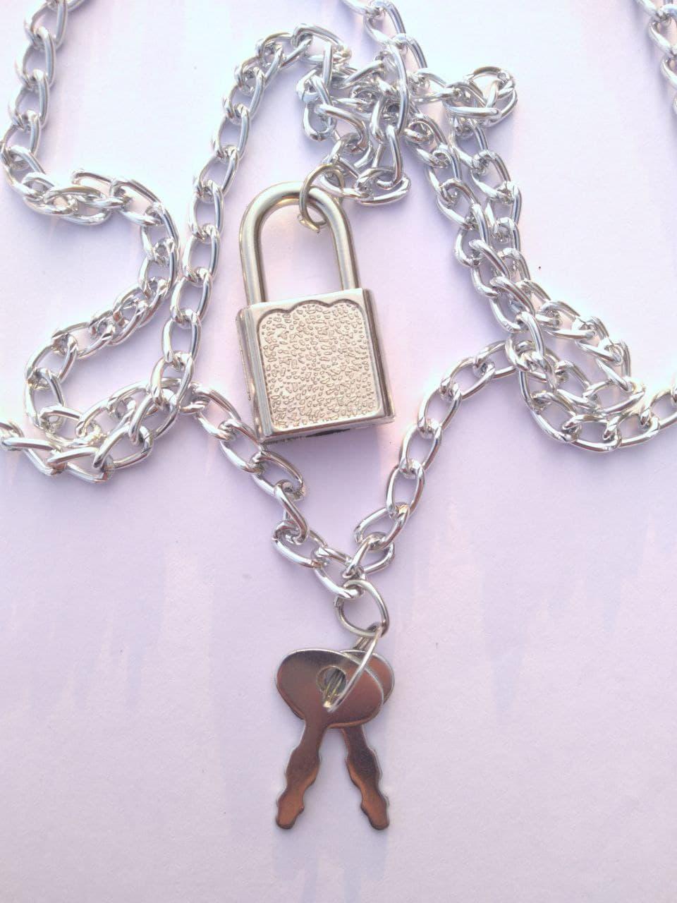 گردنبند قفل و کلید مدل (sz13261)